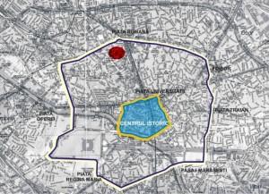 Piata Amzei - Plan